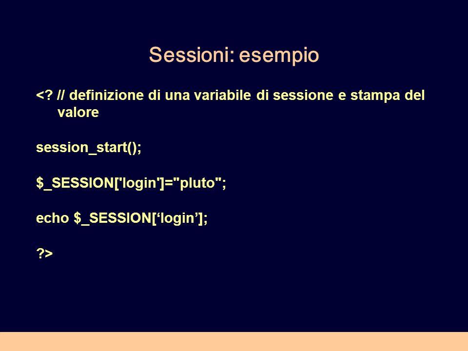 Sessioni: esempio <.