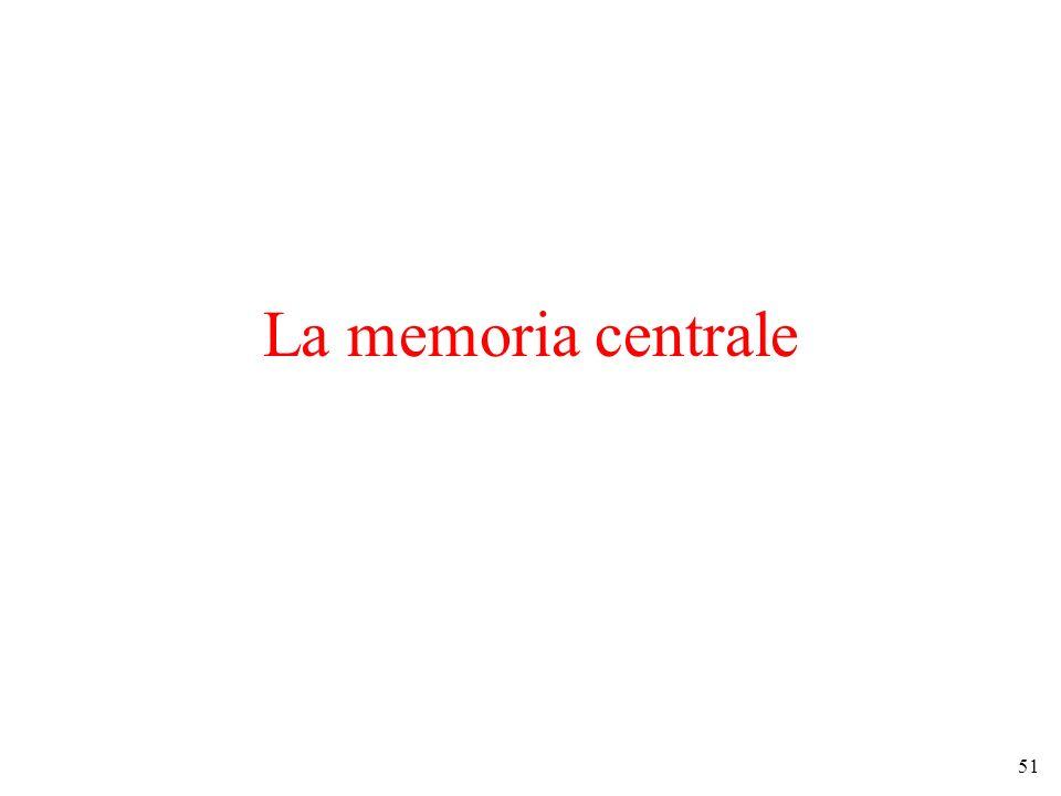 51 La memoria centrale