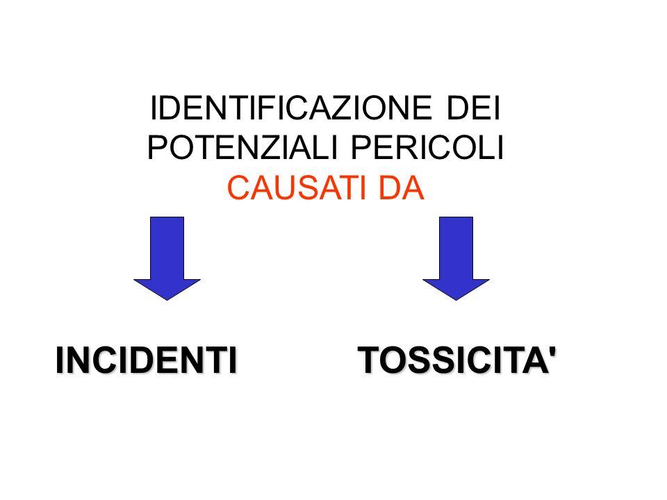 INCIDENTE: evento repentino con conseguenze anche gravi, che può provocare come conseguenza altri incidenti INCENDIESPLOSIONI USCITA DI MATERIALE NELL AMBIENTE (FUGHE DI GAS) PREVENZIONE = SOLA DIFESA