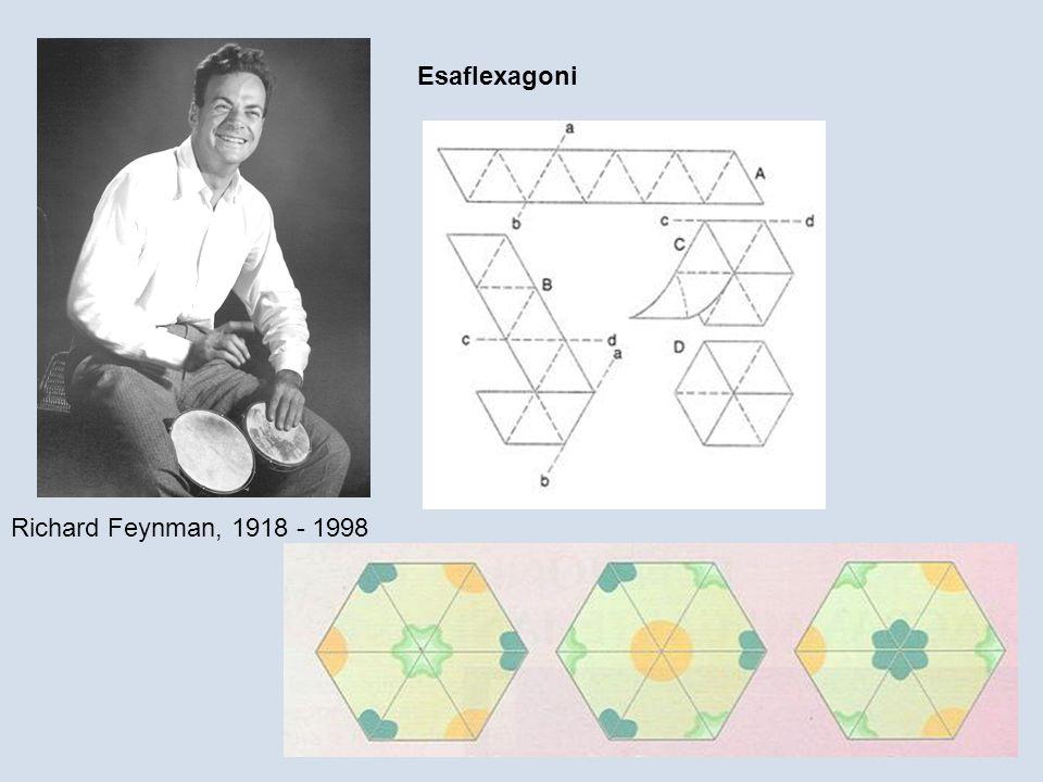 Richard Feynman, 1918 - 1998 Esaflexagoni