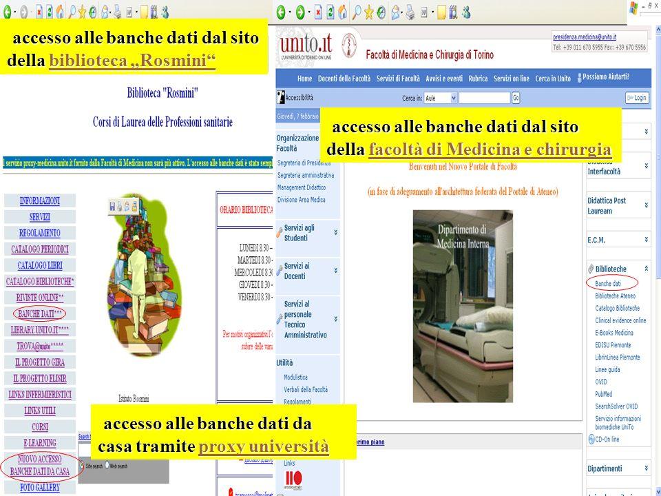 accesso alle banche dati dal sito della biblioteca Rosmini accesso alle banche dati dal sito della biblioteca Rosminibiblioteca Rosminibiblioteca Rosm