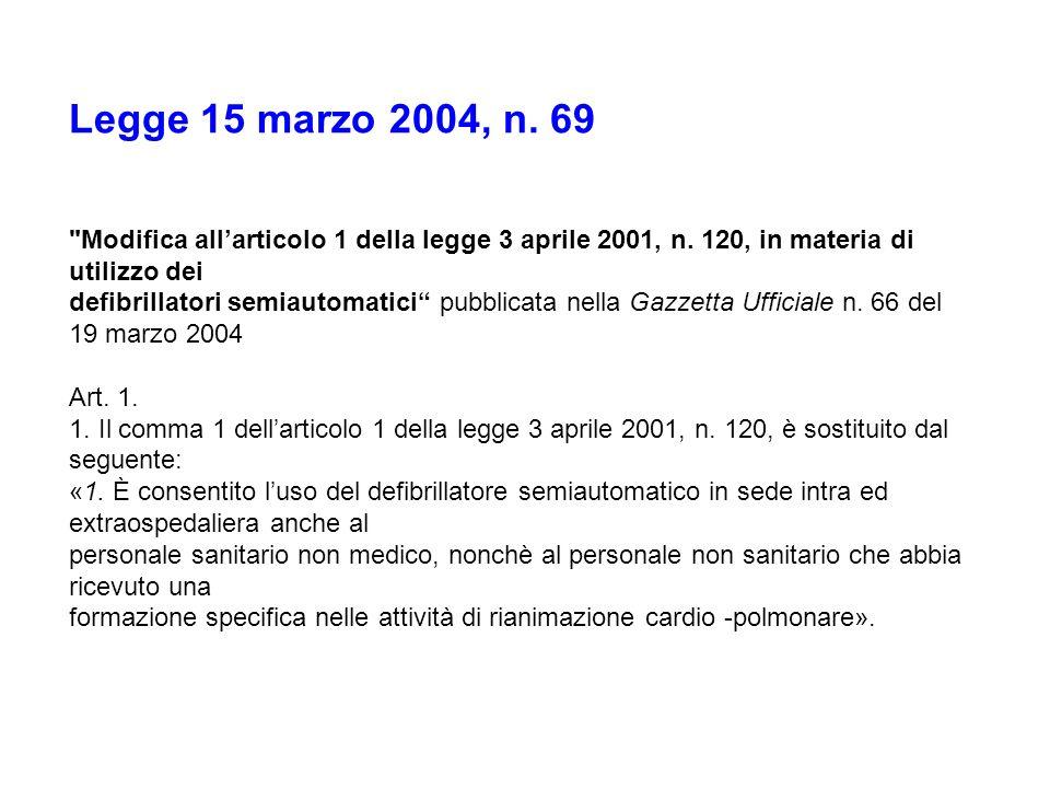 Legge 15 marzo 2004, n. 69