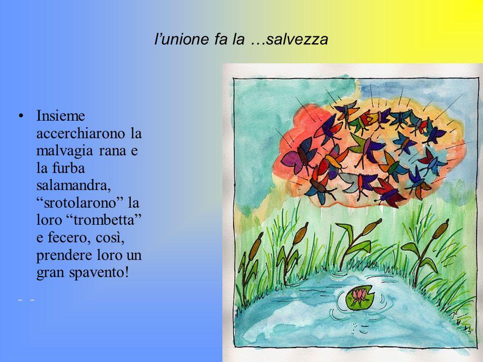 uno scherzo contro gli imbroglioni aveva capito che la rana stava imbrogliando lignara Arabella e decise di far loro uno scherzo! La farfallina lilla