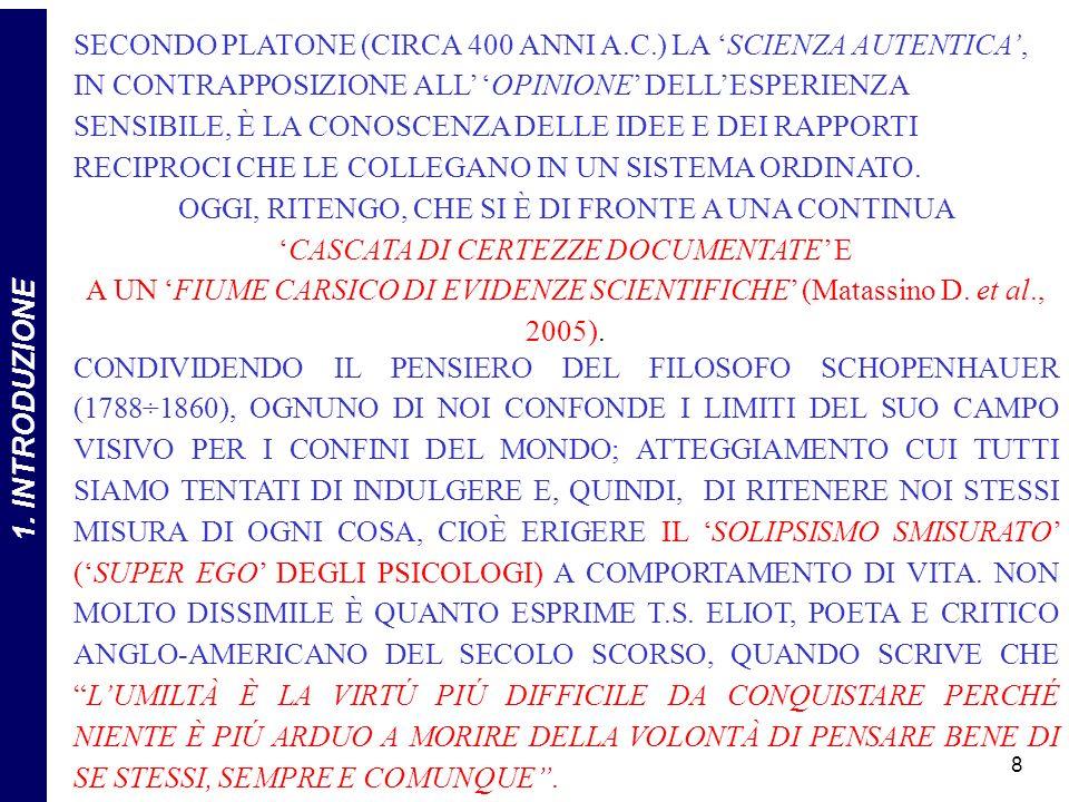 219 ALLA LUCE DI QUESTE PRECISAZIONI IL TRINOMIO COSTITUISCE UN MACROSISTEMA SEMPRE PIÙ INSCINDIBILE (Fonte: Matassino D., 2009b)