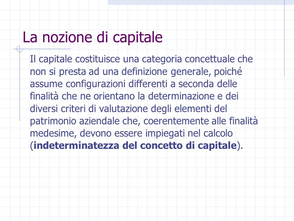 Reddito gestionale: misurato applicando principi contabili economico-aziendali ispirati dallobiettivo dellottenimento di una grandezza espressiva del