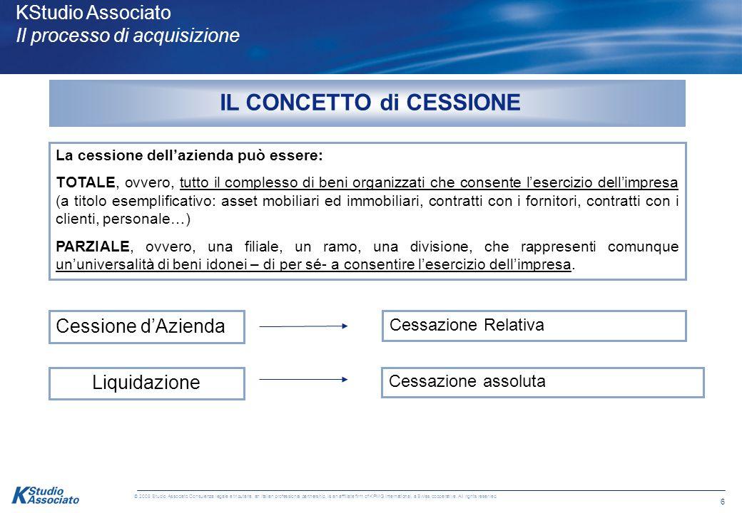 5 © 2008 Studio Associato Consulenza legale e tributaria, an Italian professional partnership, is an affiliate firm of KPMG International, a Swiss coo