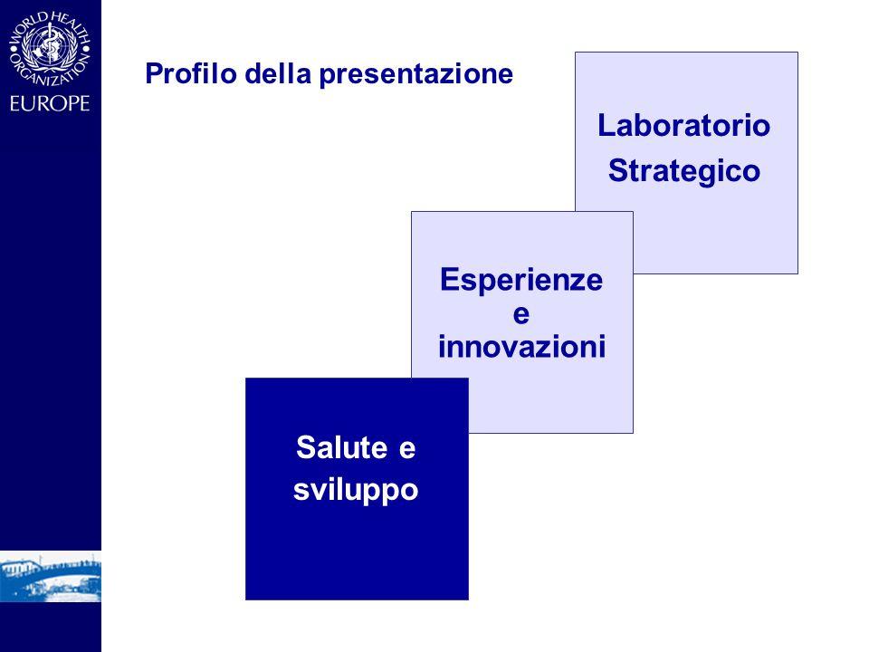 Profilo della presentazione Laboratorio Strategico Esperienze e innovazioni Salute e sviluppo