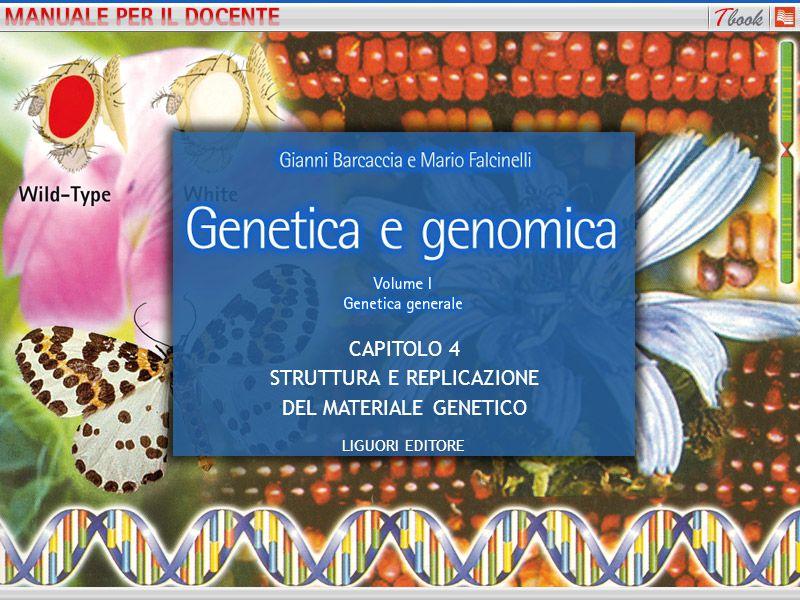 1 CAPITOLO 4 STRUTTURA E REPLICAZIONE DEL MATERIALE GENETICO LIGUORI EDITORE