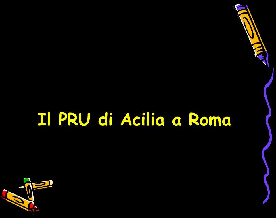 Il PRU di Acilia a Roma