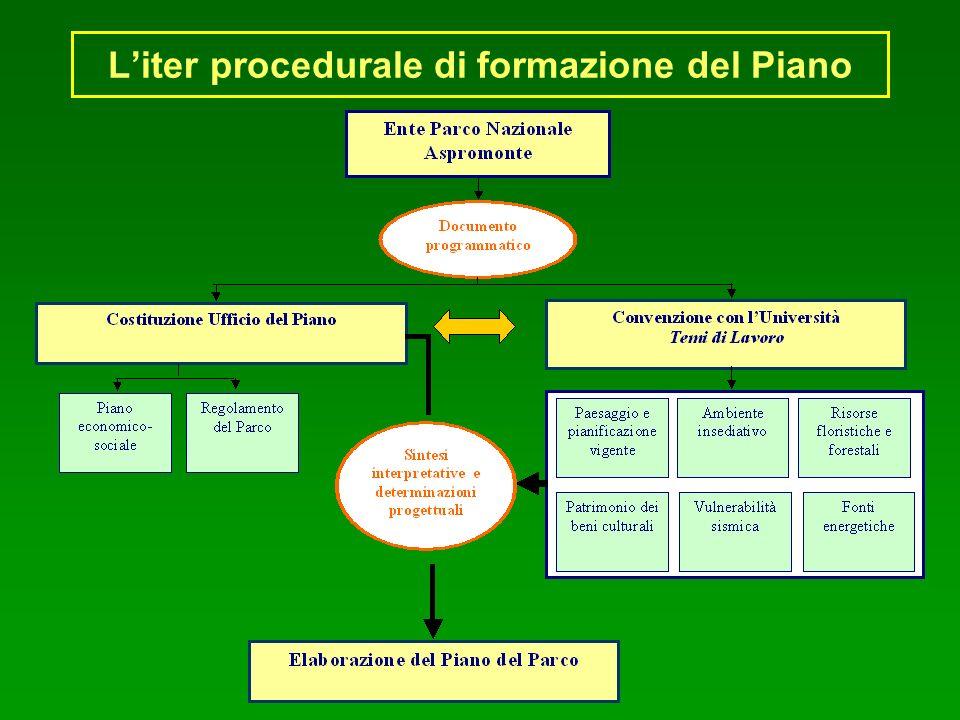 Liter procedurale di formazione del Piano