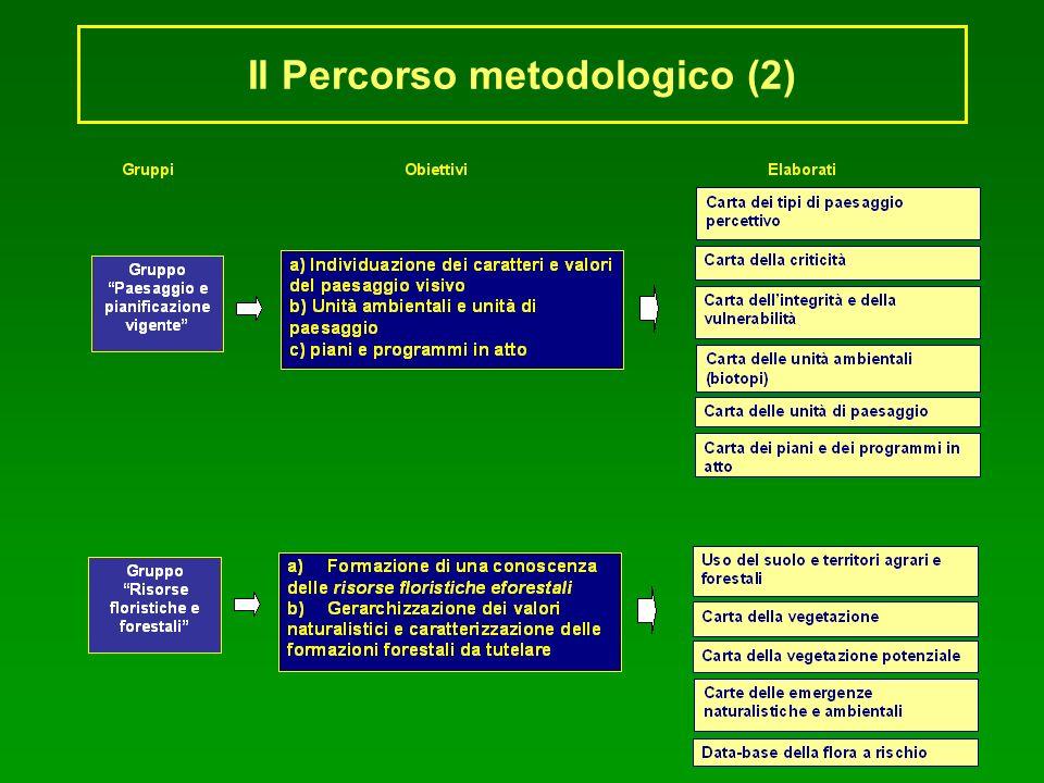 Il Percorso metodologico (2)