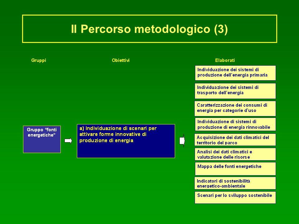 Il Percorso metodologico (3)