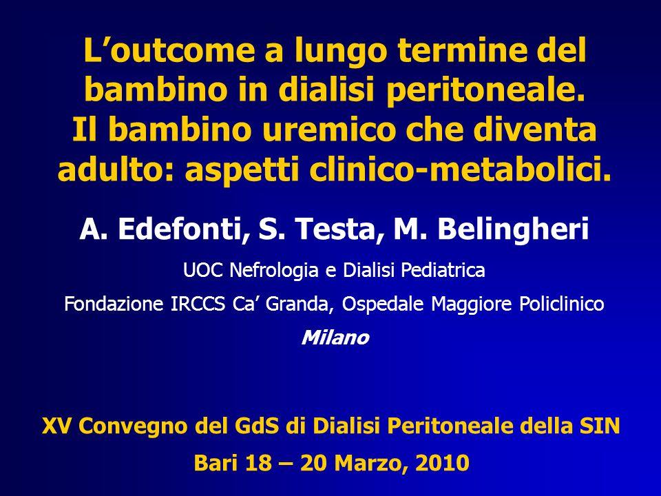N° farmaci antipertensivi UOC Nefrologia e Dialisi Pediatrica, Milano