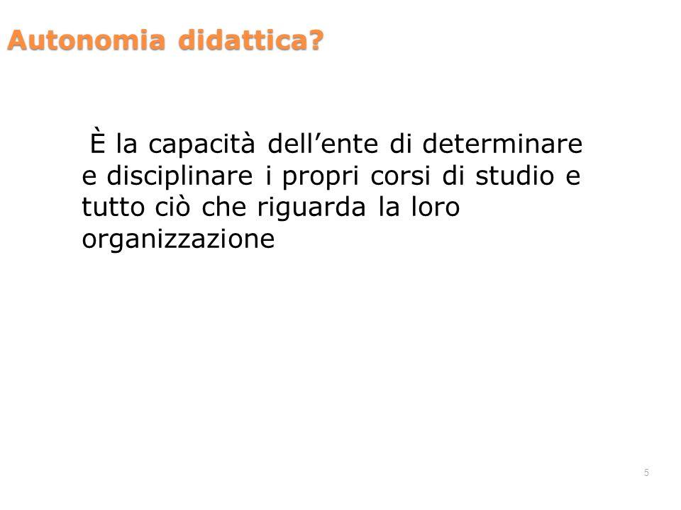 5 Autonomia didattica.