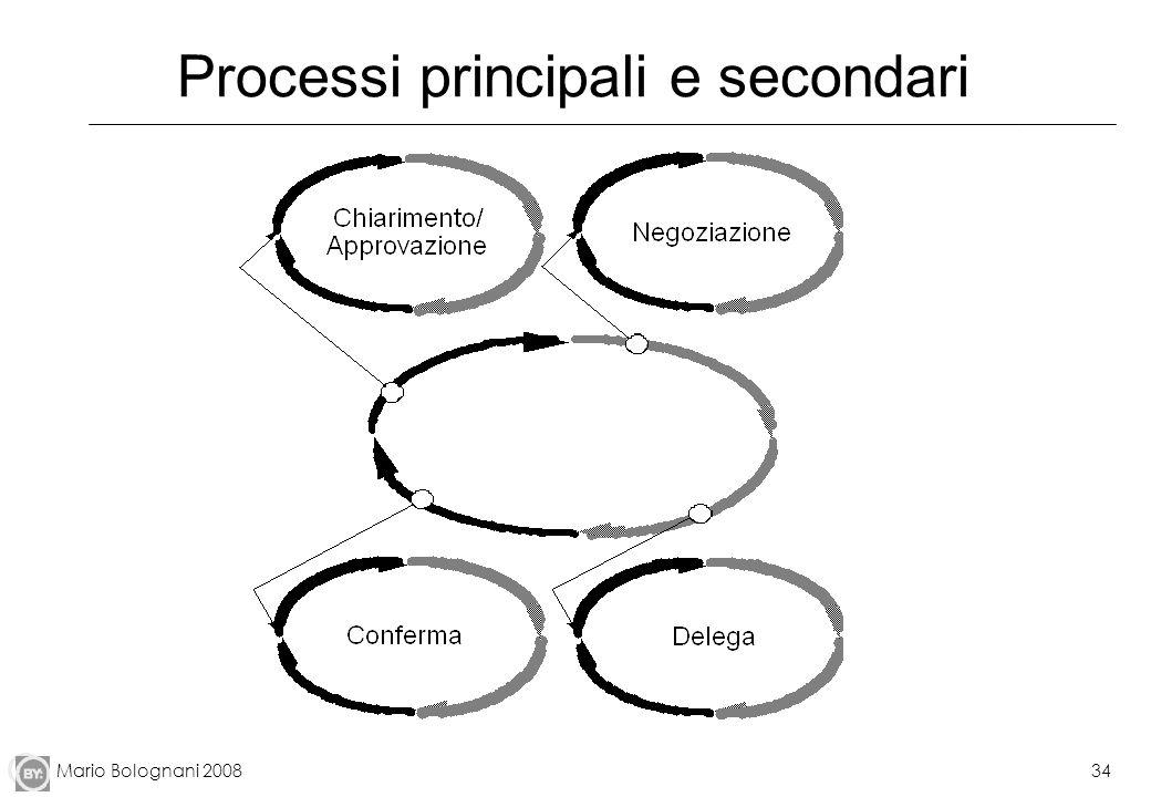 Mario Bolognani 200834 Processi principali e secondari