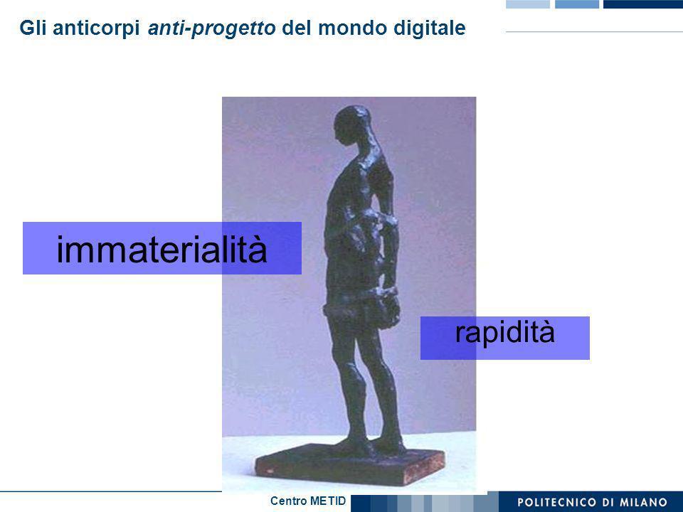 Centro METID Gli anticorpi anti-progetto del mondo digitale rapidità immaterialità