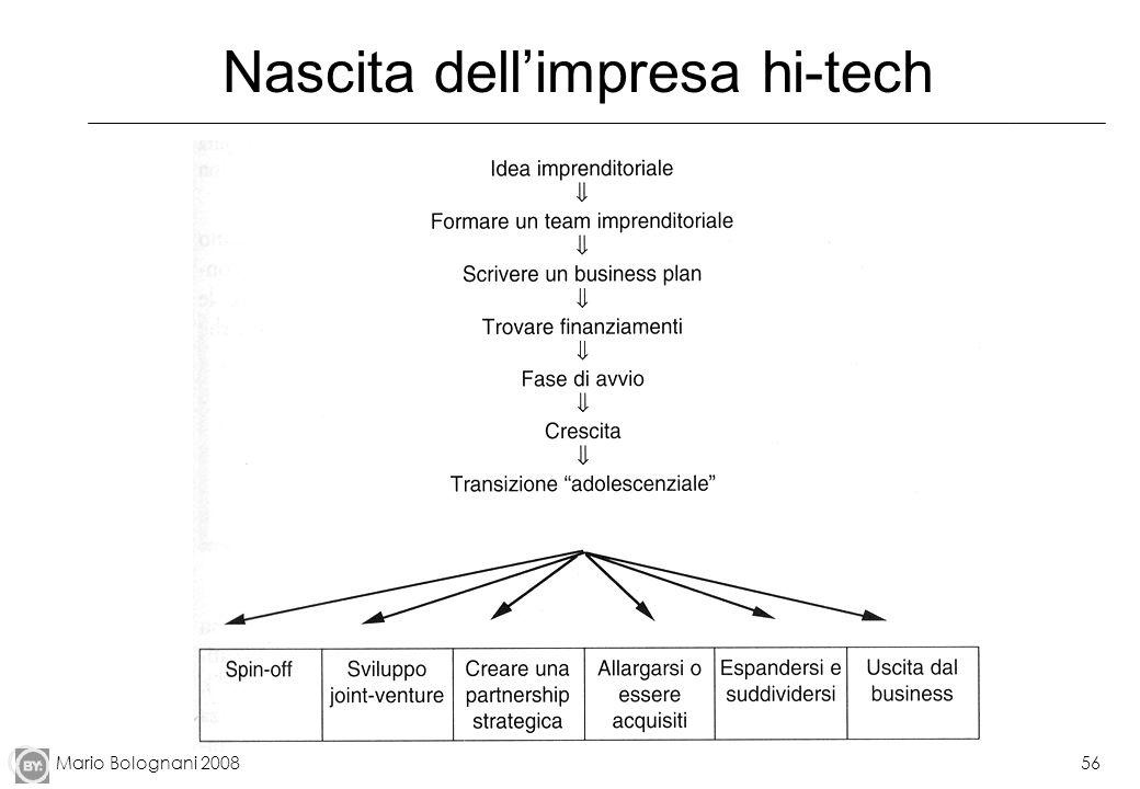 Mario Bolognani 200856 Nascita dellimpresa hi-tech