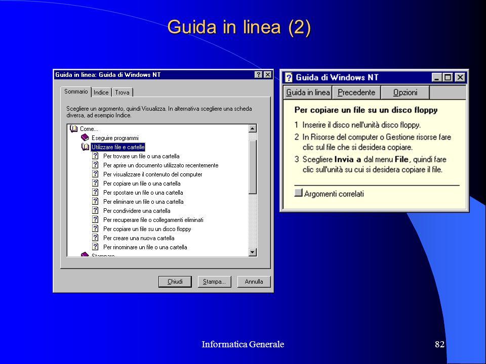 Informatica Generale82 Guida in linea (2)