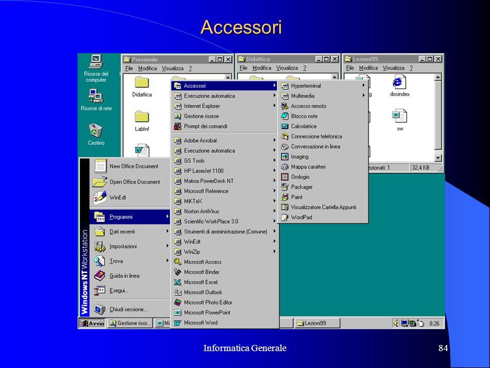 Informatica Generale84 Accessori