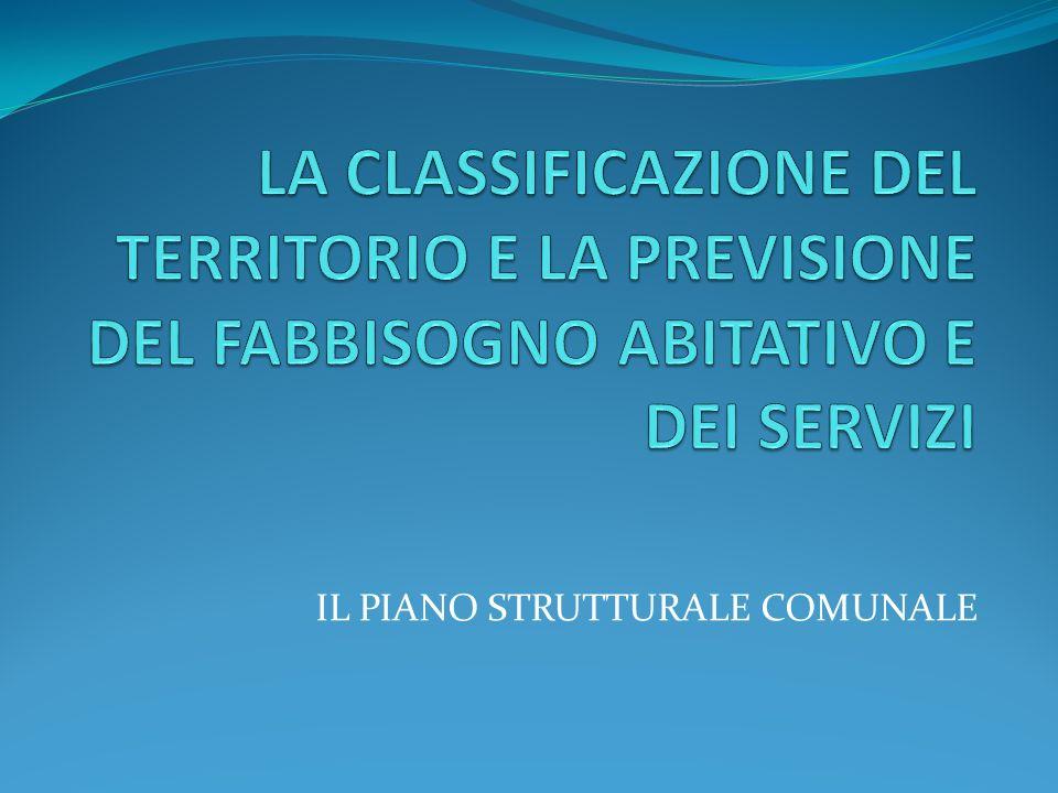 IL PIANO STRUTTURALE COMUNALE
