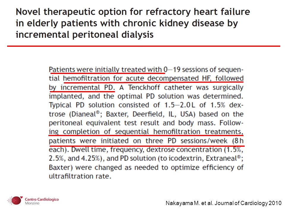 Nakayama M. et al. Journal of Cardiology 2010