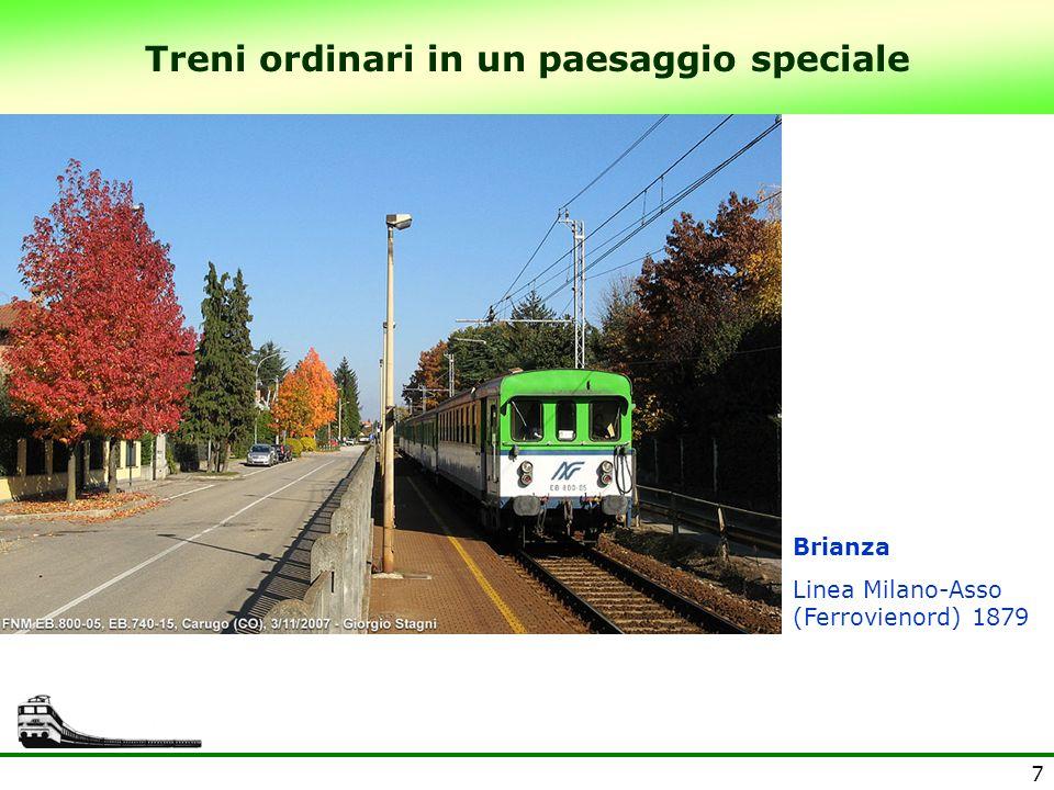 8 Treni ordinari in un paesaggio speciale Alpi Marittime Linea Cuneo- Limone-Tenda- Ventimiglia, 1900-1928