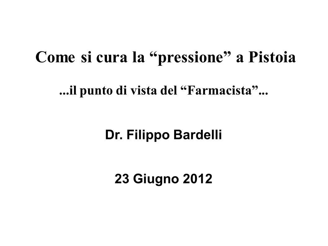 Come si cura la pressione a Pistoia...il punto di vista del Farmacista...
