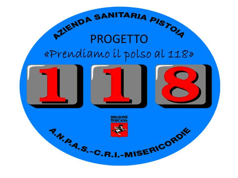 PROGETTO «Prendiamo il polso al 118»