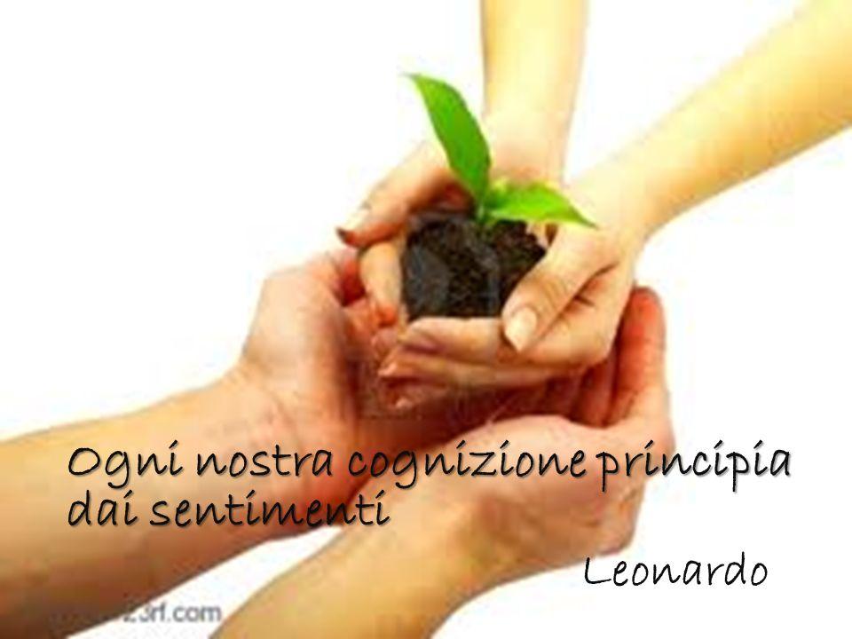 Ogni nostra cognizione principia dai sentimenti Leonardo