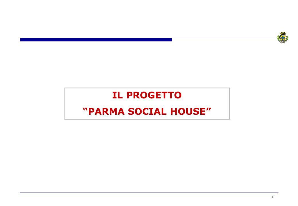 10 IL PROGETTO PARMA SOCIAL HOUSE