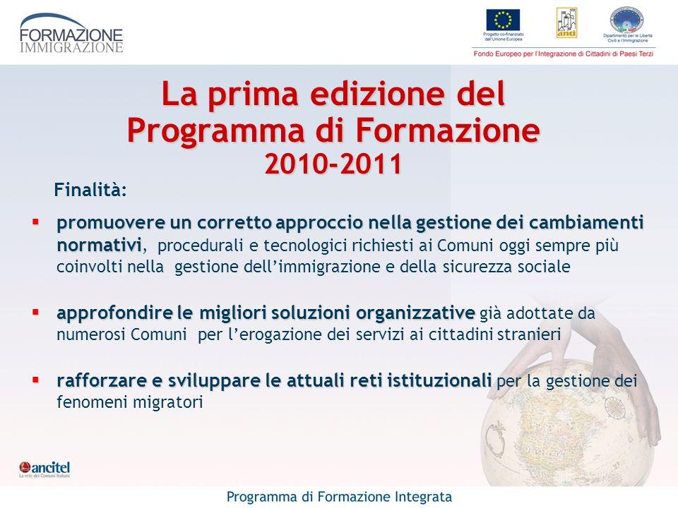 Finalità: promuovere un corretto approccio nella gestione dei cambiamenti normativi promuovere un corretto approccio nella gestione dei cambiamenti no