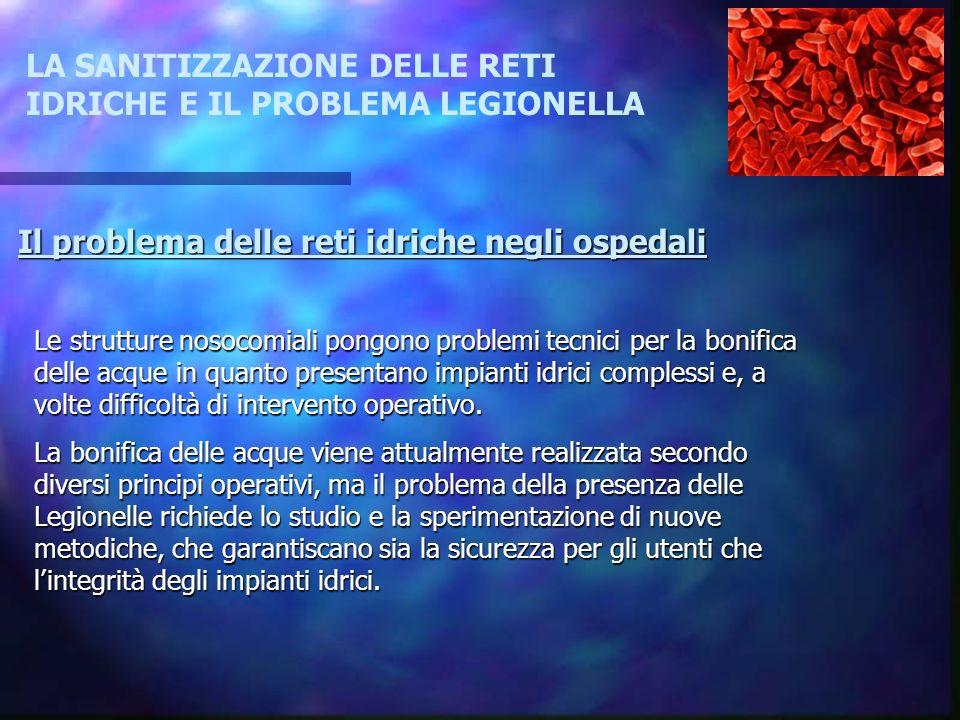 Metodiche per la bonifica microbiologica delle acque (linee guida per la prevenzione e il controllo della legionellosi,documento 4-4-2000, G.U.