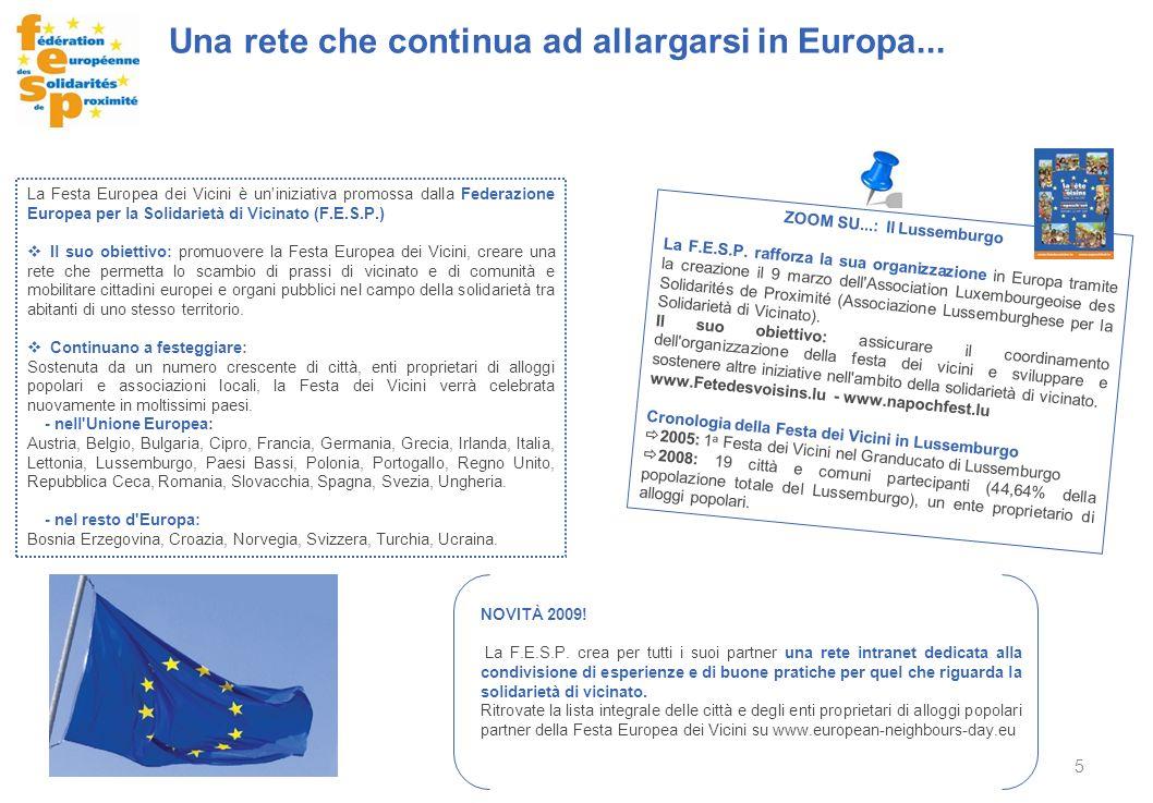 5 ZOOM SU...: Il Lussemburgo La F.E.S.P. rafforza la sua organizzazione in Europa tramite la creazione il 9 marzo dell'Association Luxembourgeoise des