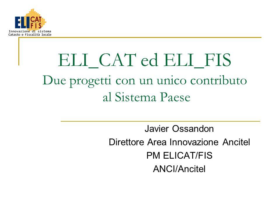Work Packages ELI_CAT NumeroDenominazioneW.P.