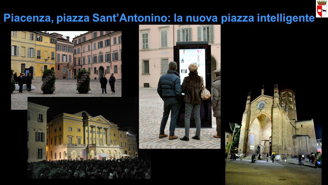 Piacenza, piazza SantAntonino: la nuova piazza intelligente