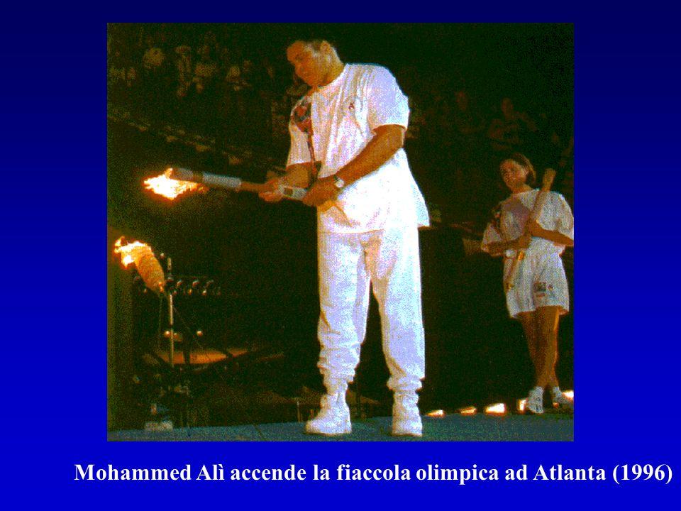 Mohammed Alì accende la fiaccola olimpica ad Atlanta (1996)