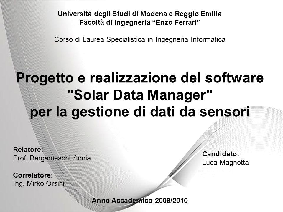 Powerpoint Templates Page 1 Powerpoint Templates Università degli Studi di Modena e Reggio Emilia Facoltà di Ingegneria Enzo Ferrari Corso di Laurea S