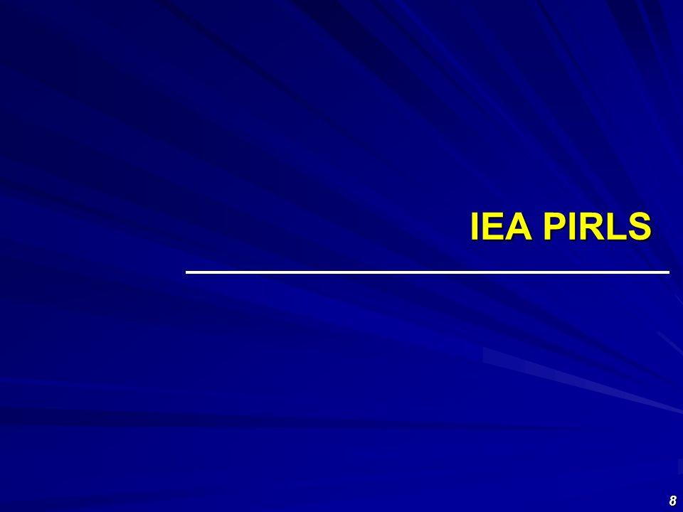 9 2006 IEA PIRLS (Progress In International Reading Literacy Study) Nel 2006 40 paesi partecipanti Obiettivi: Ricavare informazioni Fare inferenze semplici Interpretare ed integrare informazioni Analizzare e valutare PROVE UTILIZZATE: testi narrativi e informativi.