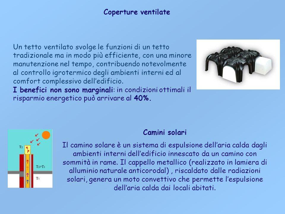 Coperture ventilate Un tetto ventilato svolge le funzioni di un tetto tradizionale ma in modo più efficiente, con una minore manutenzione nel tempo, c