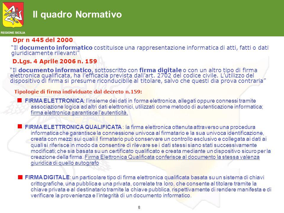 9 CAD: Nuovo Codice Amministrazione Digitale I.Il vecchio Codice dellamministrazione digitale (decreto legislativo n.