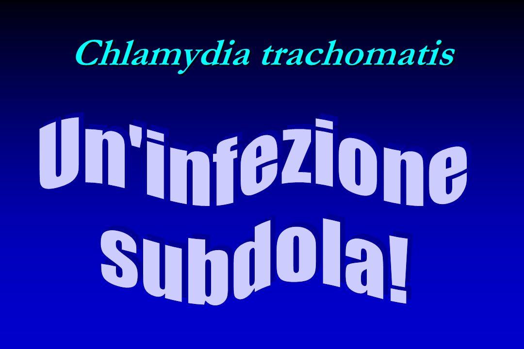 Epidemiologia di Chlamydia Incidenza: Circa 4 milioni di nuovi casi/anno negli U.S. e 5 milioni in Europa Una delle IST batteriche più diffuse Tassi 4