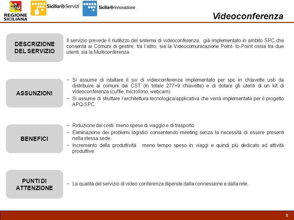 9 Videoconferenza – Interfaccia Utente