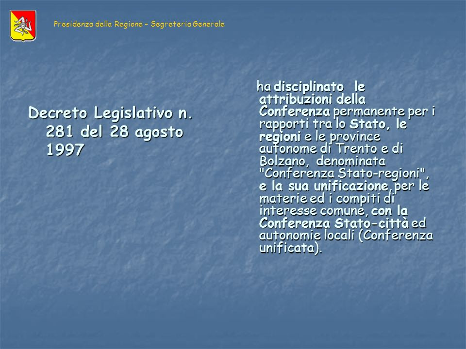 I soggetti UNIONE EUROPEA Consiglio Consiglio Commissione Commissione C.I.A.C.E.