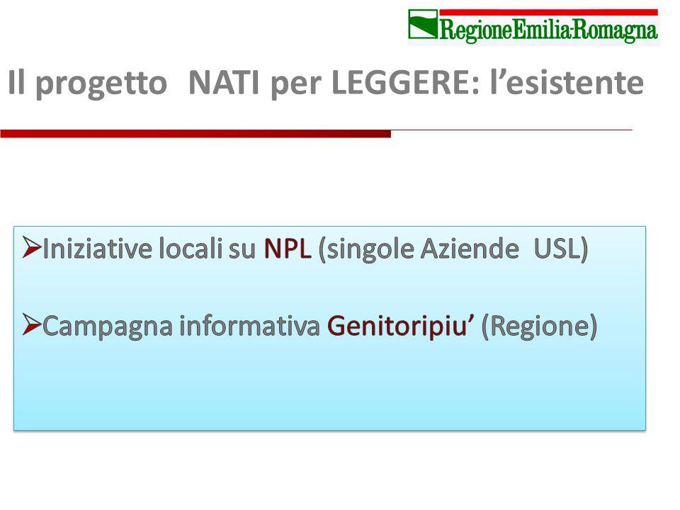 Il progetto NATI per LEGGERE: lesistente