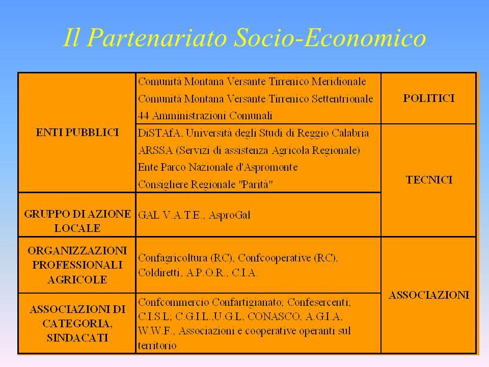 Il Partenariato Socio-Economico