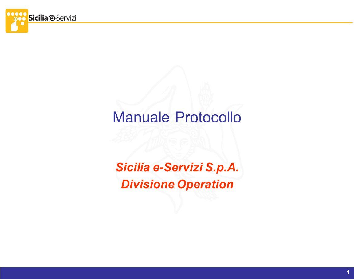 Report servizi IVR e CM1 Manuale Protocollo Sicilia e-Servizi S.p.A. Divisione Operation