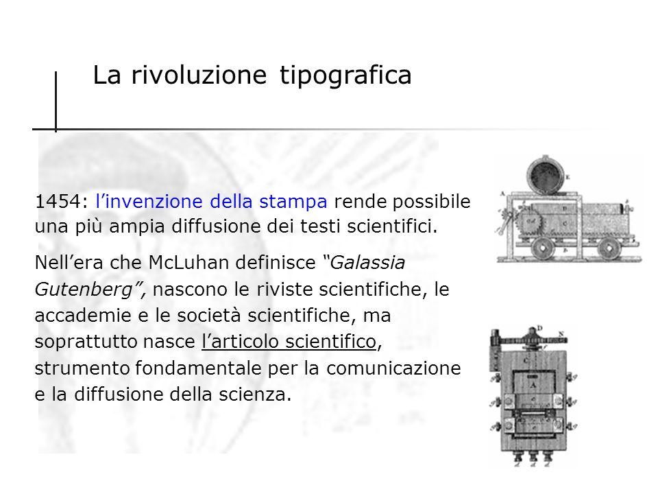 La rivoluzione chirografica È la preistoria della comunicazione scientifica che ha per protagonisti figure ibride di scienziati- filosofi tipiche dell