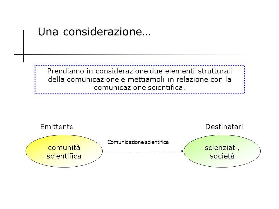La rivoluzione elettrica ed elettronica Le informazioni scientifiche raggiungono il grande pubblico, coinvolgendolo sempre più. Linvenzione del telegr