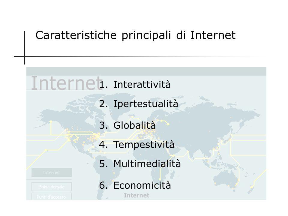 La comunicazione scientifica nellera di Internet Internet offre nuove opportunità anche per la comunicazione scientifica. Ma quali sono le caratterist