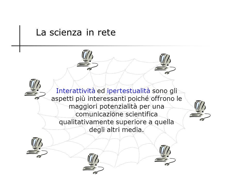 1.Interattività Caratteristiche principali di Internet 3.Globalità 2.Ipertestualità 6.Economicità 4.Tempestività 5.Multimedialità